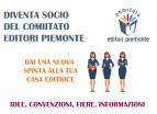 Nuovo anno per il comitato Editori Piemonte